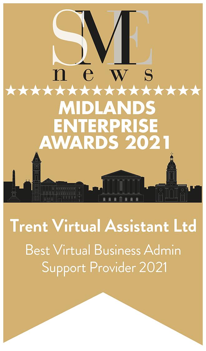 Midlands Enterprise Awards 2021 Winners Logo